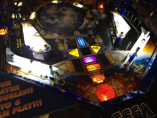 Apollo 13 Pinball Repair
