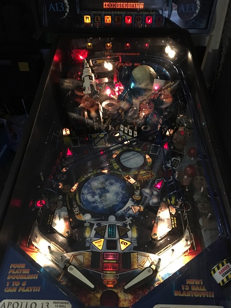 Apollo 13 Pinball Repair