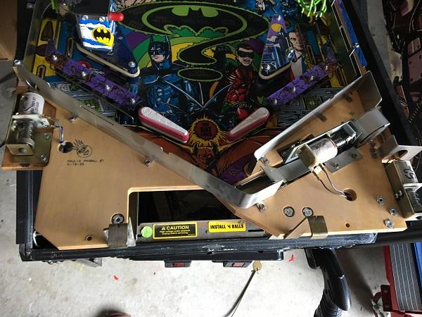 Batman Forever Pinball Repair