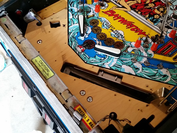 Baywatch Pinball Repair