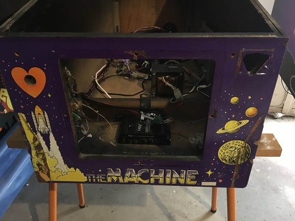 Bride of Pinbot Pinball Repair