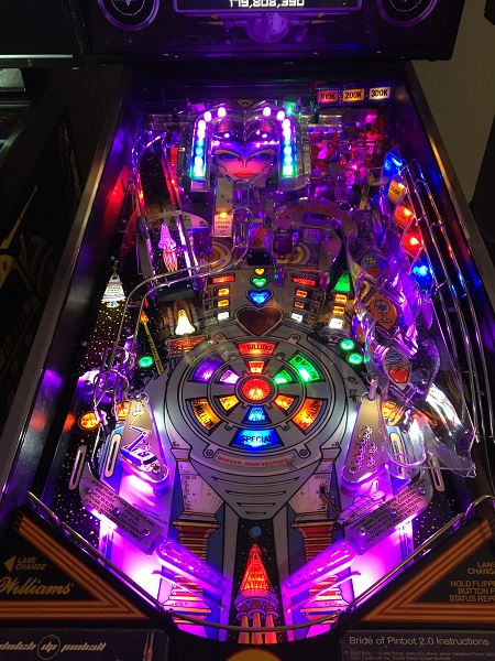 Bride of Pinbot 2.0 Playfield Swap