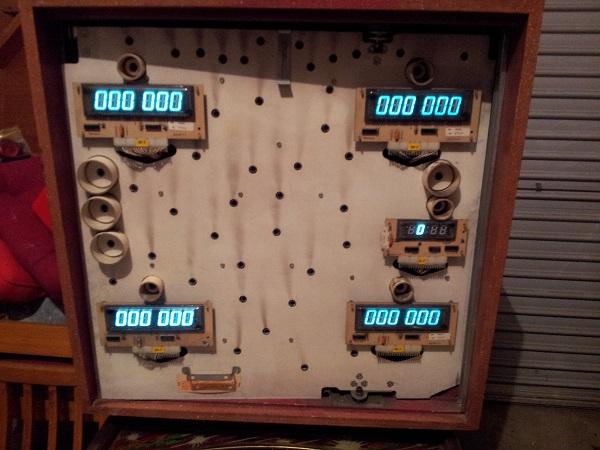 Counter Force pinball
