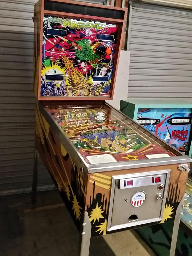 Counterforce pinball sale