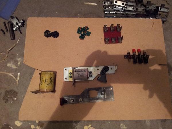 Misc pinball parts