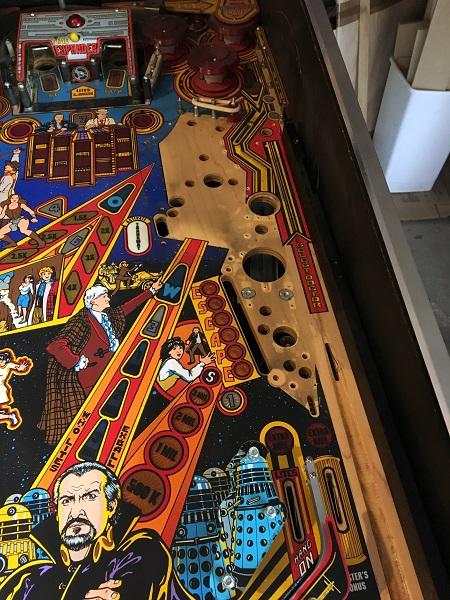 Dr Who Pinball Repair