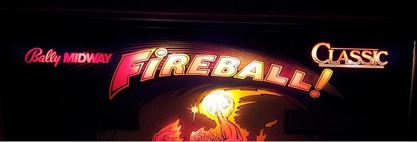Fireball classic backglass compare