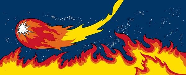 Fireball classic side art decals