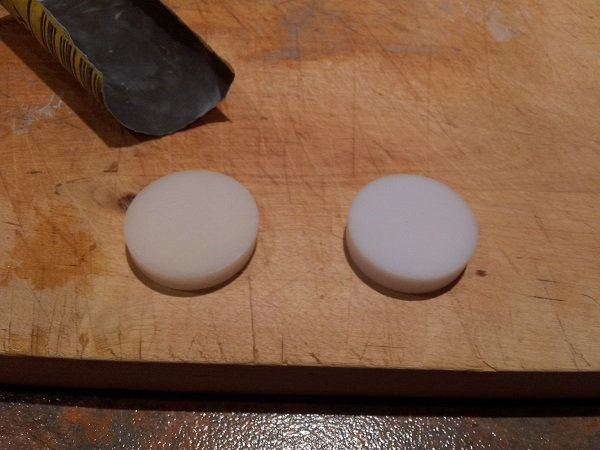 Fireball classic inserts sanded