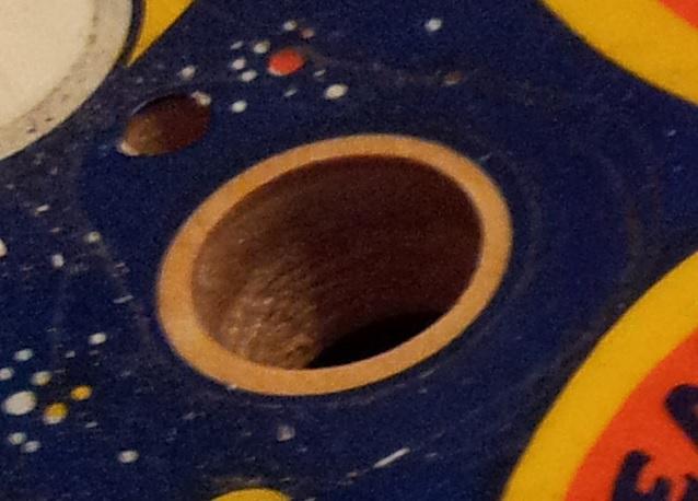 Fireball mushroom bumper playfield