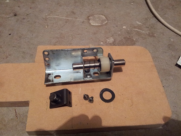 Fireball sling shot assembly cleaned