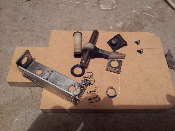 Fireball sling shot assembly parts