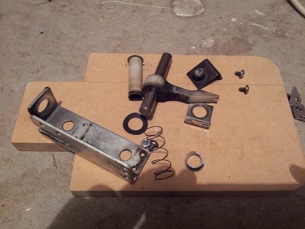 Fireball sling shot assembly parts