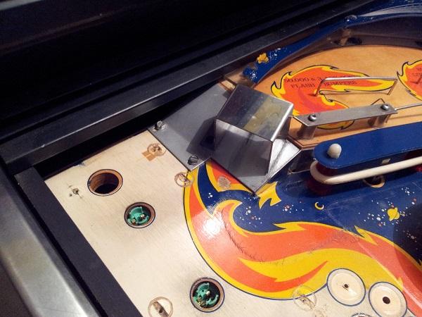 Fireball classic play field touchup