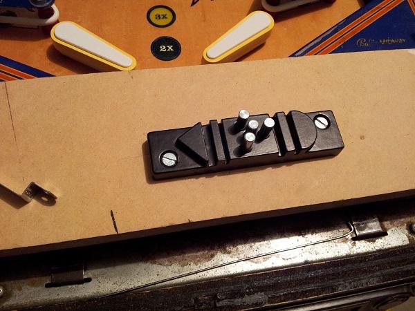 Pinball wire bending jig