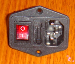 IEC Switch and fuse