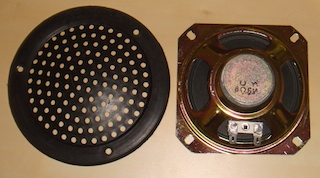 Speaker and grill