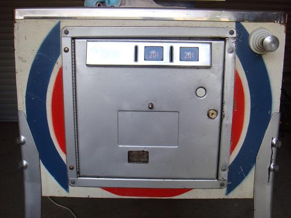 Coin door