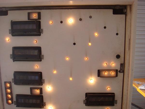 Back glass bulbs