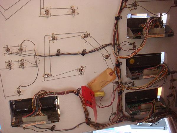Back glass bulbs wiring