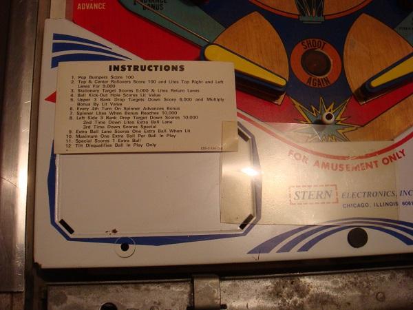 Nugent instruction card