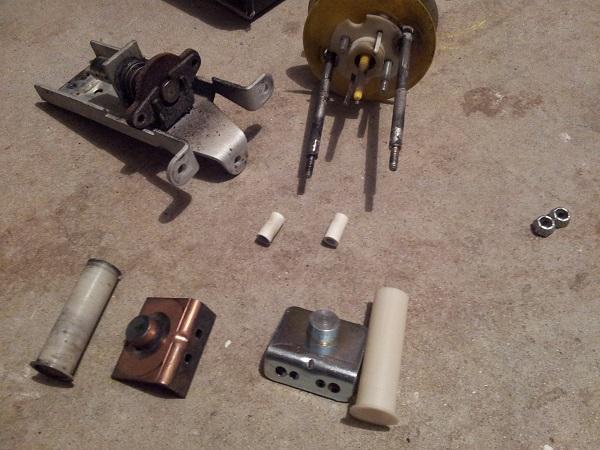 Nugent pop bumper parts