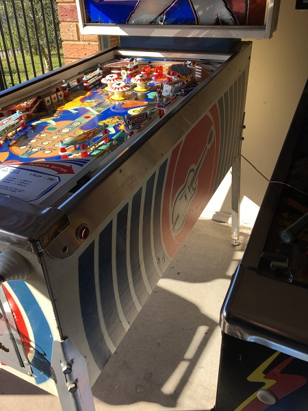 Nugent Pinball – For Sale (SOLD) | EnterYourInitials