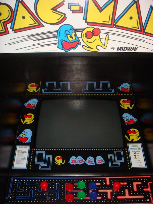 and ... & Pacman Cabinet Complete | EnterYourInitials