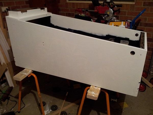 Pinbot Cabinet Restoration