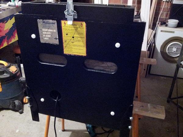 Pinbot restoration