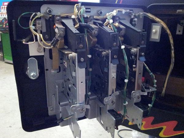 Pinbot coin door parts