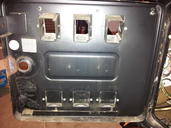 Pinbot coin door stripped
