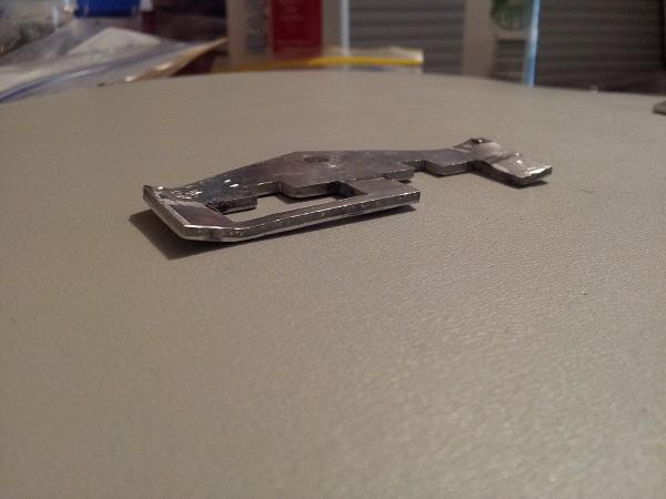 Pinbot drop target reset plate