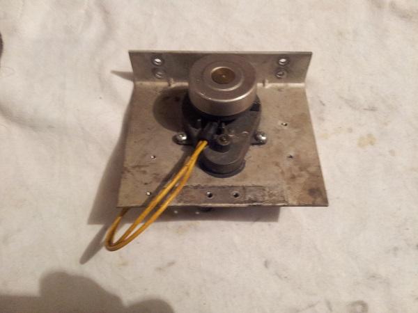 Pinbot target bank motor