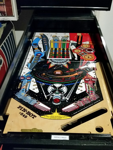 Pinbot Pinball Machine