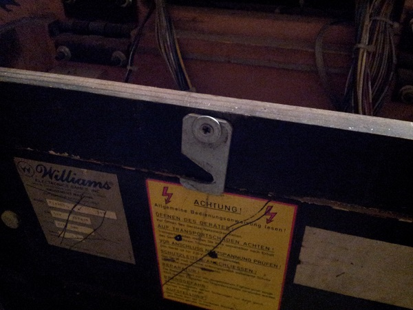 Pinbot old latch