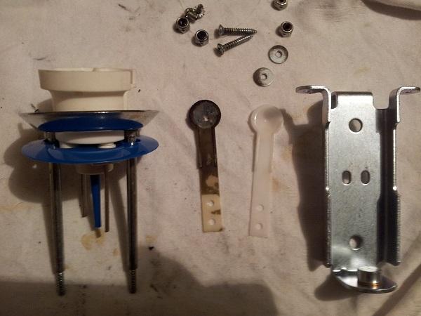Pinbot new pop bumper parts