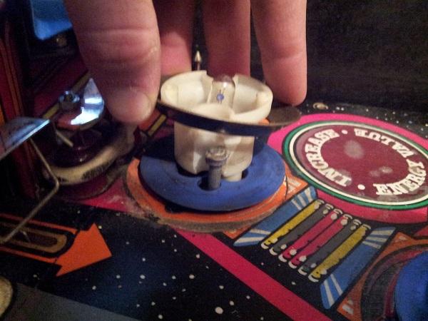 Pinbot broken pop bumper ring