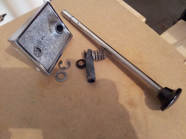 Pinbot shooter parts