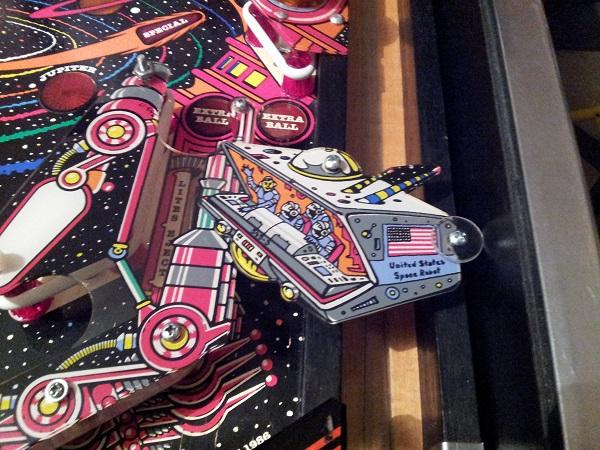 Pinbot sling shots rebuilt