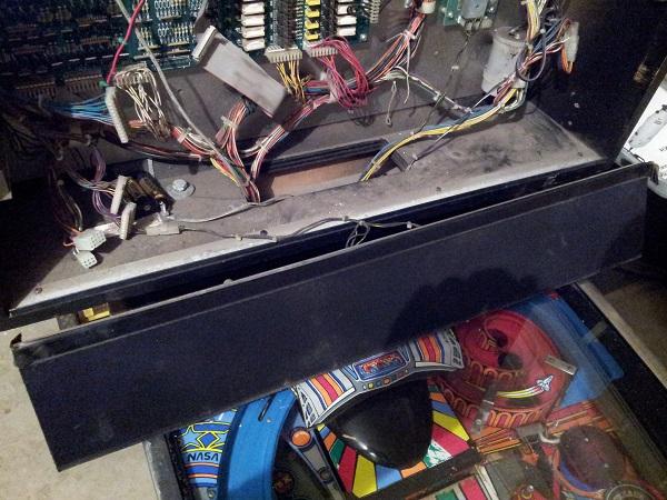 Pinbot speaker panel