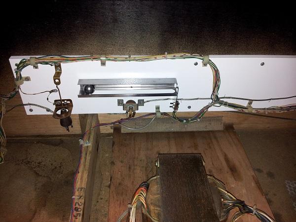 Pinbot tilt panel finished