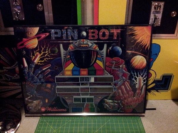 Pinbot backglass complete
