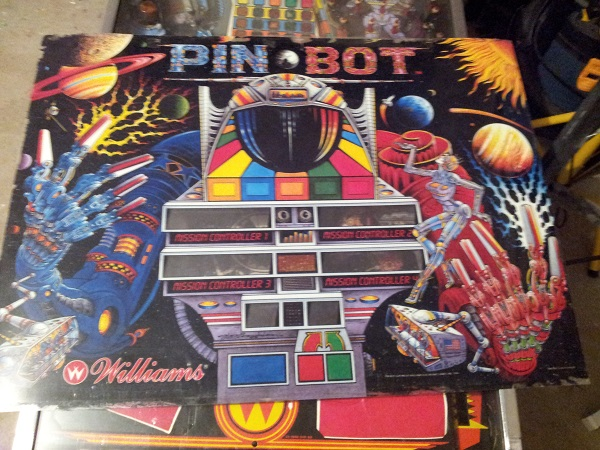 Pinbot project machine translite