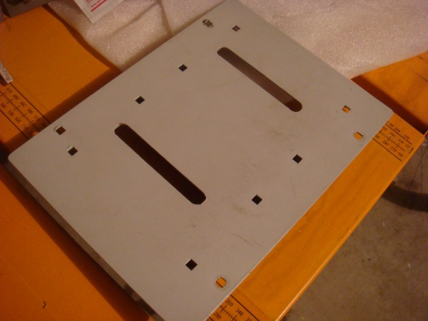 Pedal assembly plate