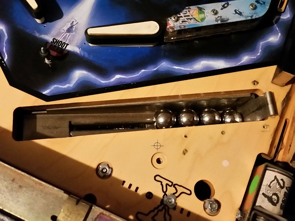 XFiles Pinball Servicing