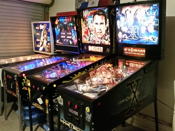XFiles Pinball Servicing