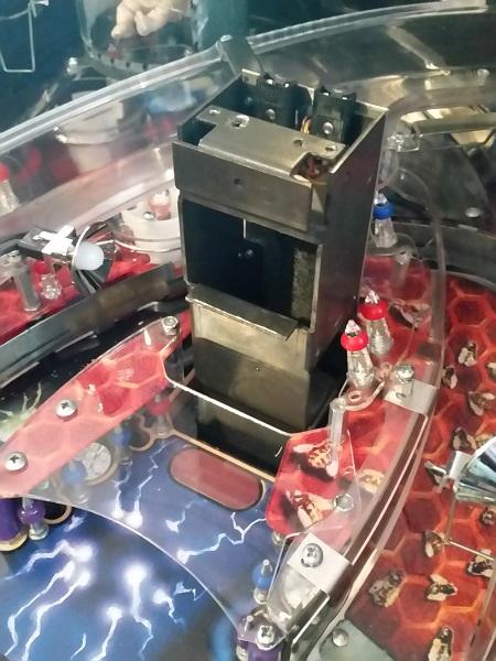X-Files pinball cabinet